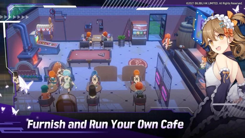 Gameplay of Girl Cafe Gun