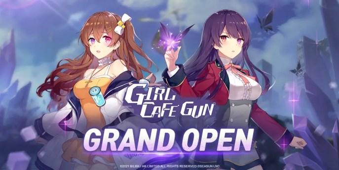 Girl cafe gun was released on 9 September of 2021