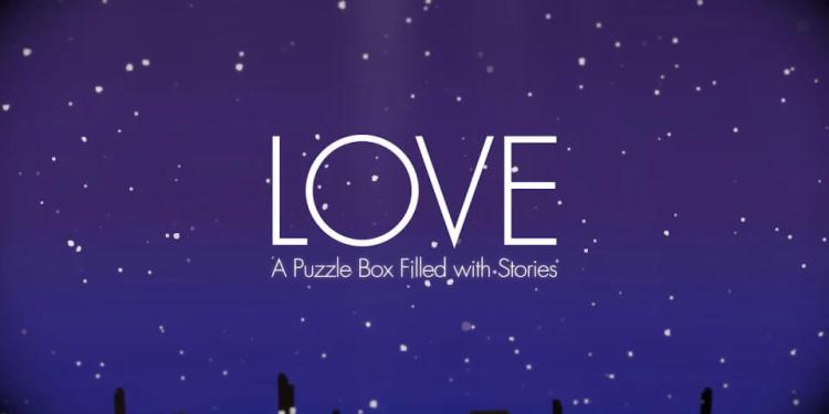 Love - A puzzle box filled with stories cover