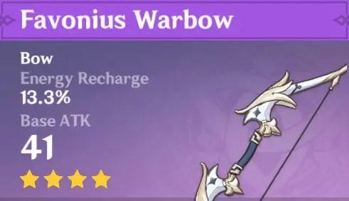 favonius bow