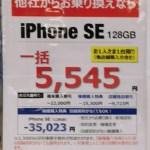 docomo iPhoneSE 128GB