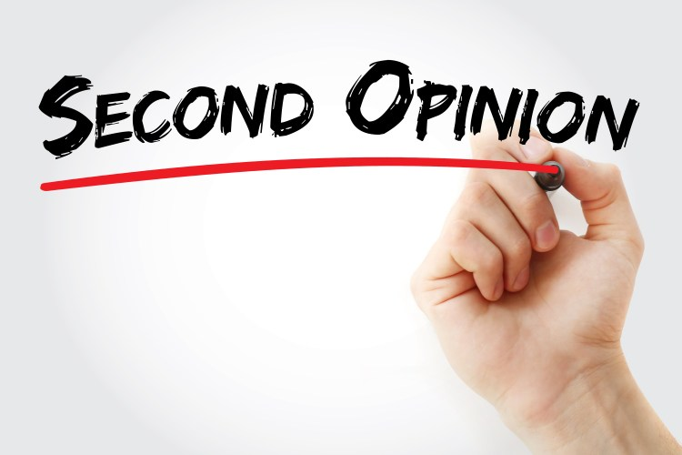 Hearing evaluation second opinion