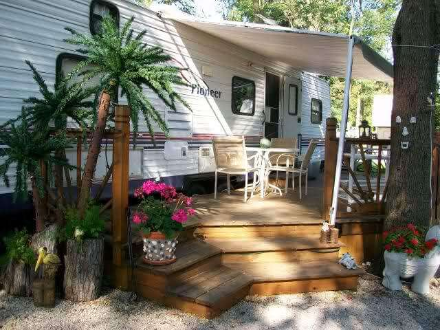 awesome rv deck design ideas how to