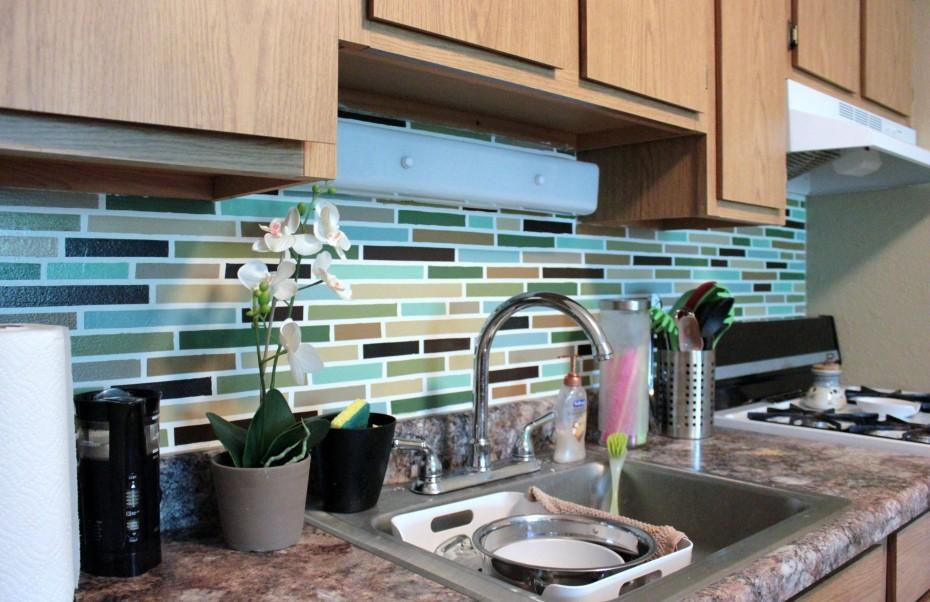 affordable diy backsplash mosaic tile