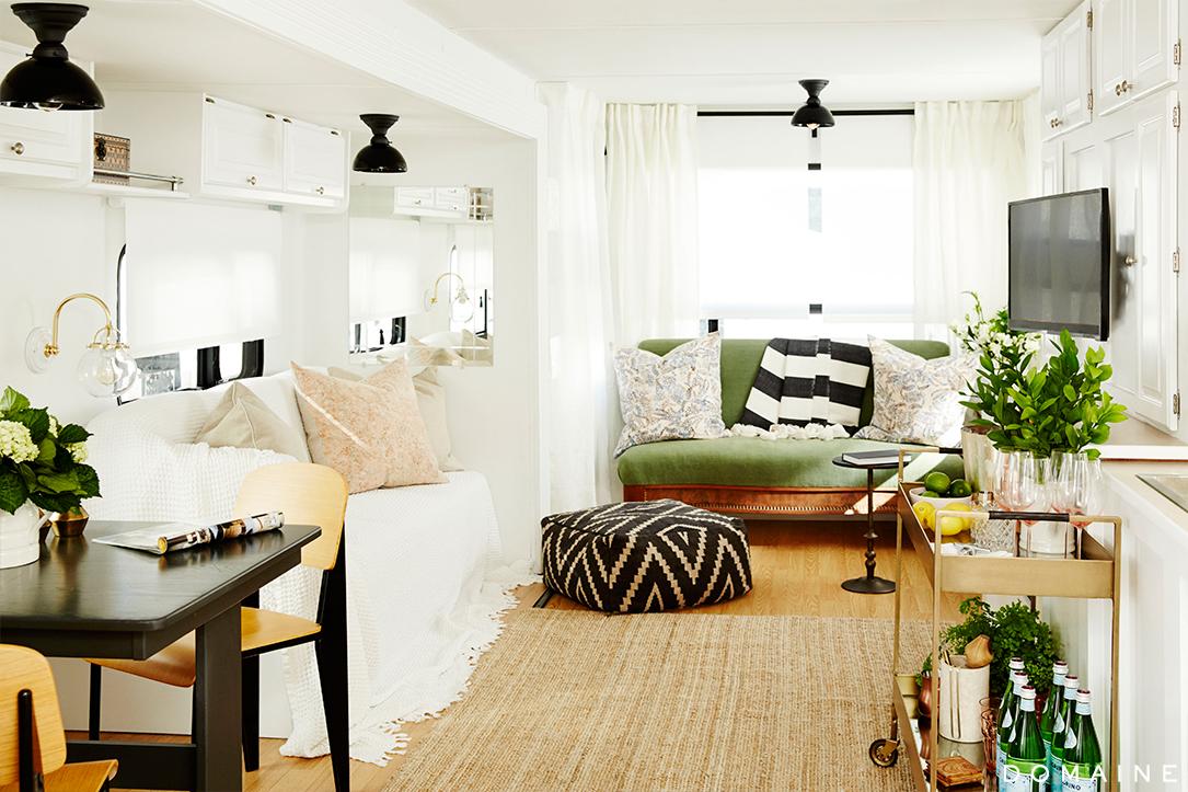Ellen Pompeo S Camper Makeover Mobile Home Living