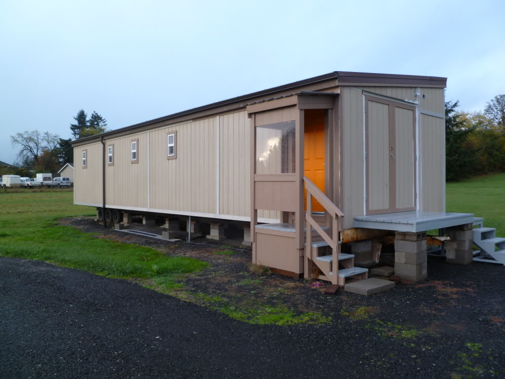 Mobile Home Renovation Ideas Recycling A Mobile Home Chassis