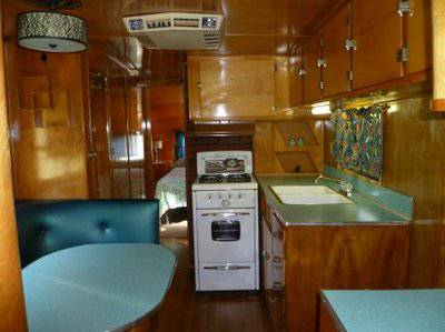 Vintage Mobile Home Series 1953 Silver Star