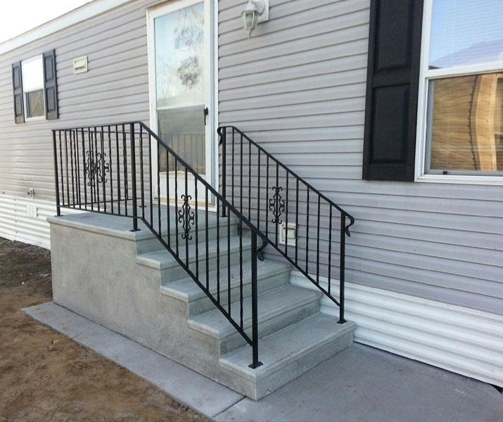 Everything You Need To Know About Mobile Home Steps Mobile Home | Pressure Treated Stair Handrail | Sturdy | Step | Deck Rail | Long Deck | Treated Lumber