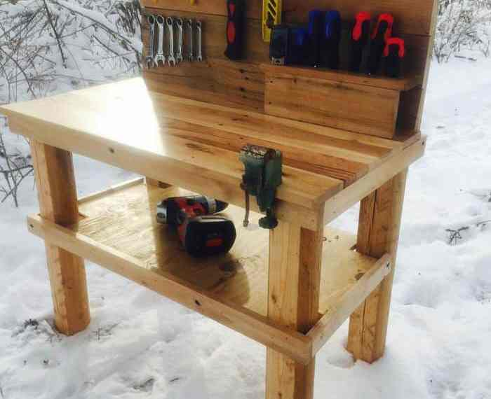Pallet Projects Kids Tool Bench