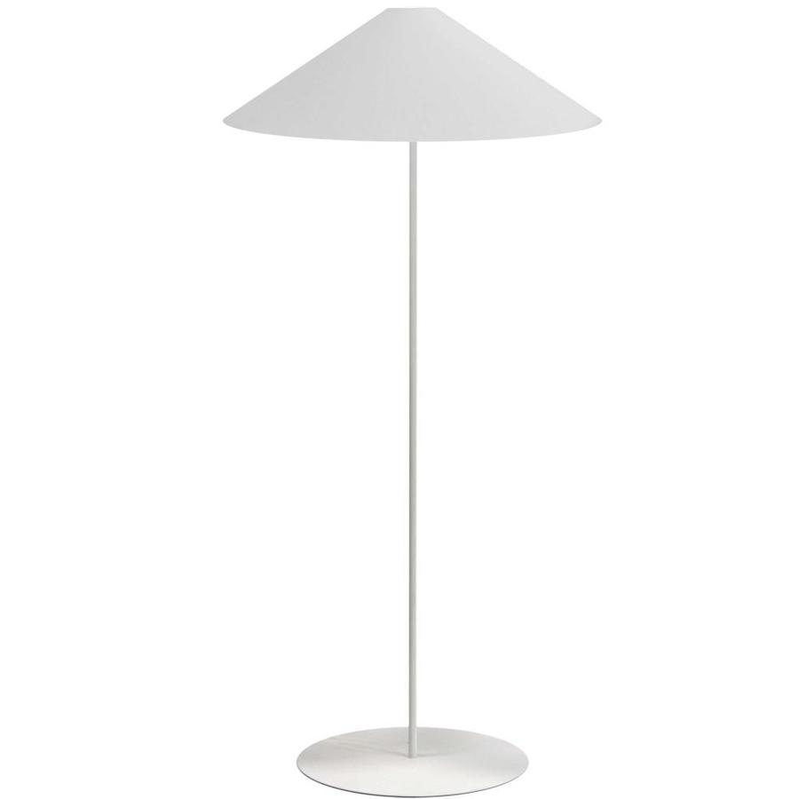 dainolite maine 60 in white shaded floor lamp in the floor lamps department at lowes com