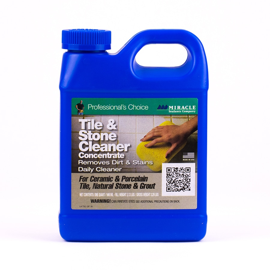 miracle sealants company 32 fl oz indoor floor sealer pour bottle in the tile cleaners department at lowes com