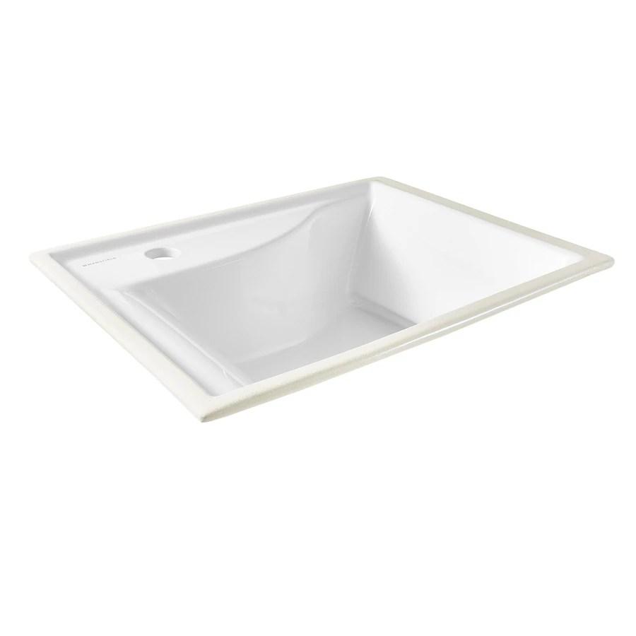 mansfield bathroom sinks at lowes com