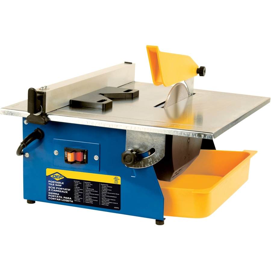 q e p 7 in 0 6 wet tabletop tile saw