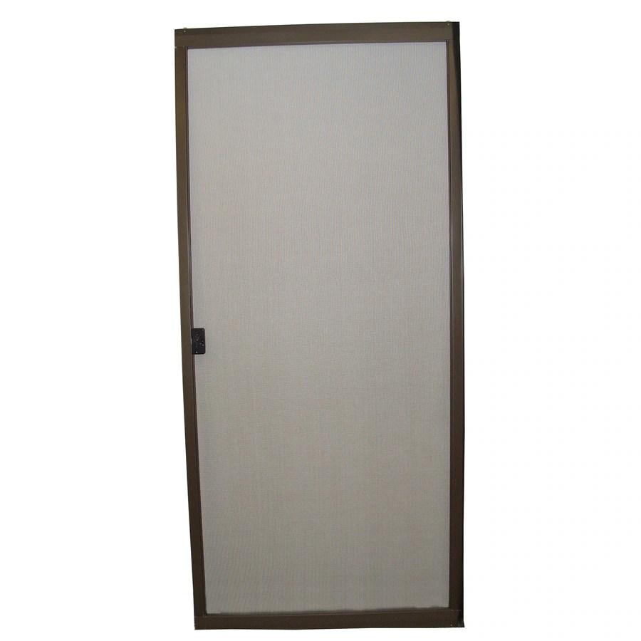ritescreen steel frame sliding screen door