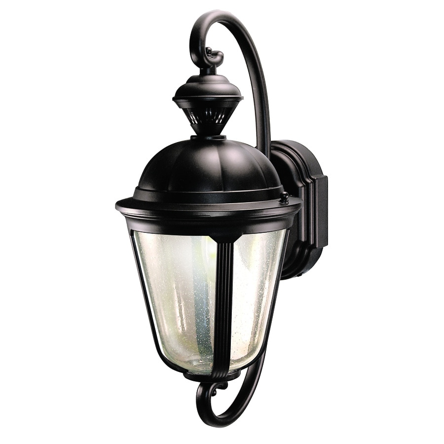 heath zenith 19 in oil rubbed bronze motion activated outdoor wall light