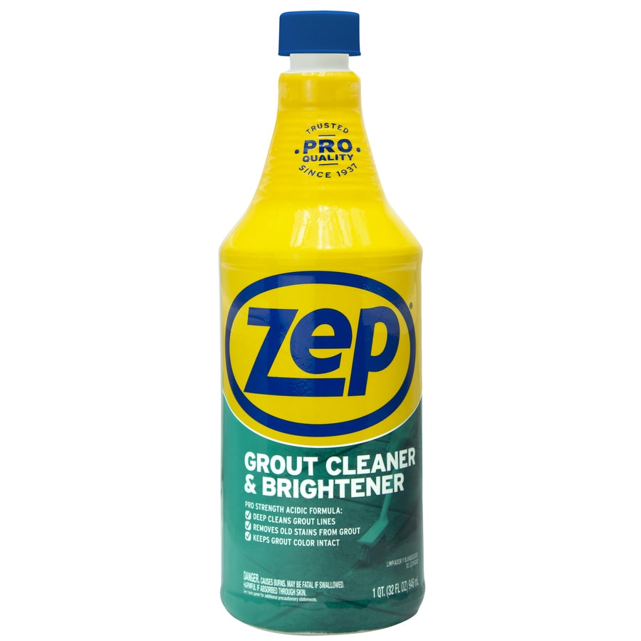 zep 32 oz grout cleaner