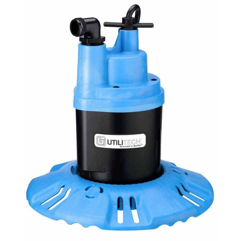 Utilitech 0 25 Hp Thermoplastic Submersible Utility Pump