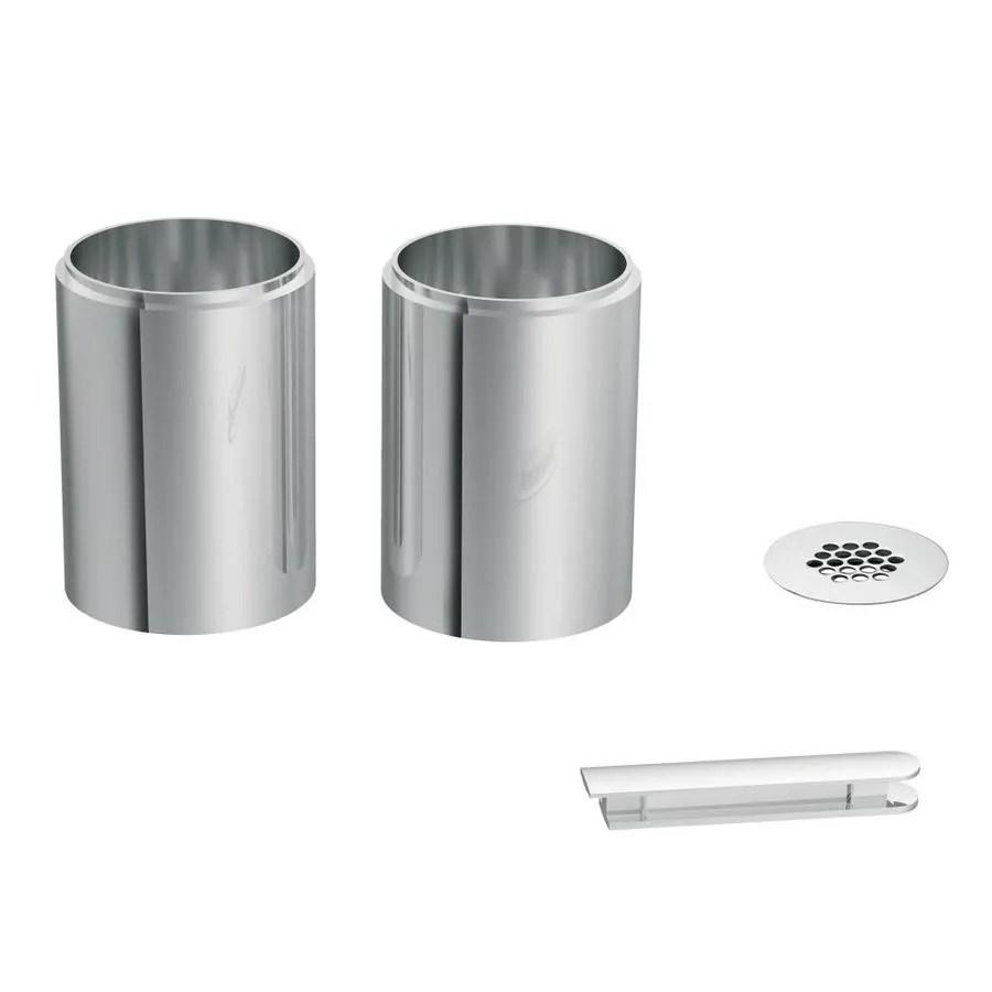 moen chrome vessel faucet extension kit