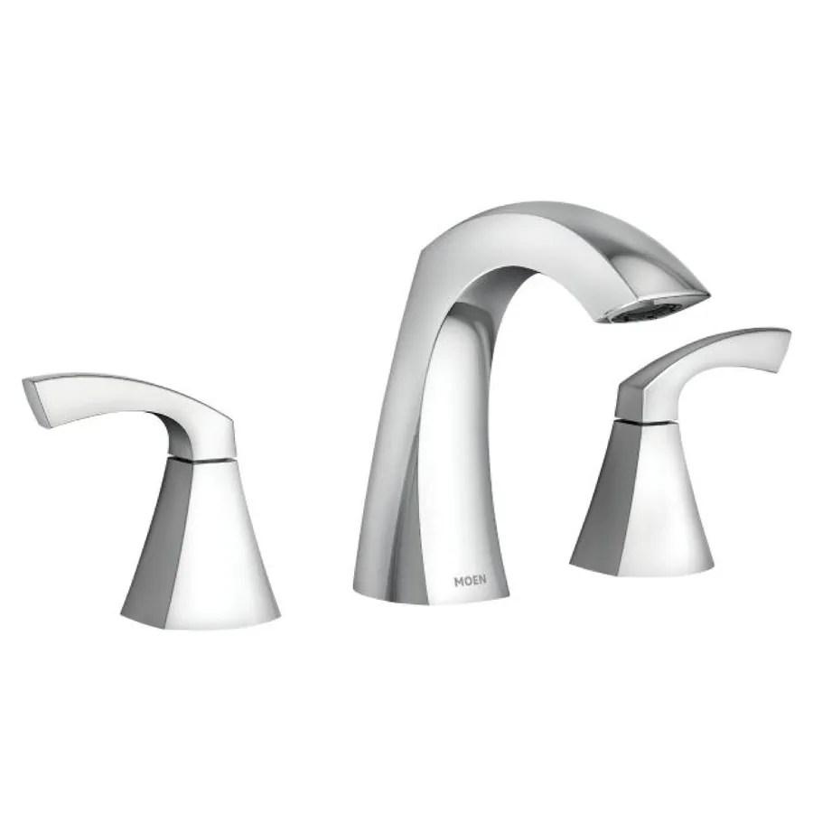 lowes bathroom sink faucets moen