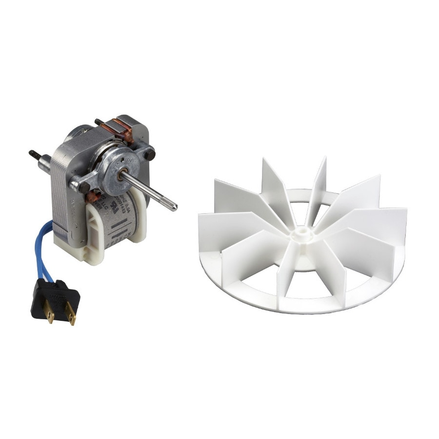 broan metal bath fan motor in the bathroom fan parts department at lowes com