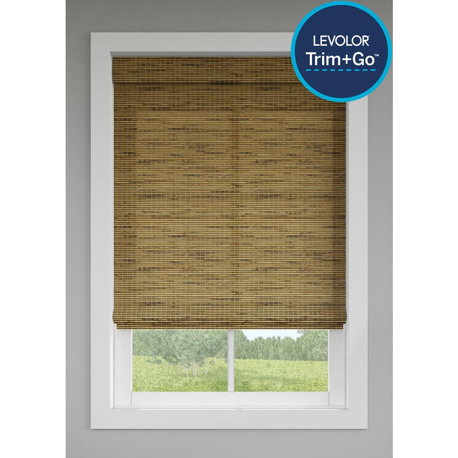 bamboo window shades at lowes com