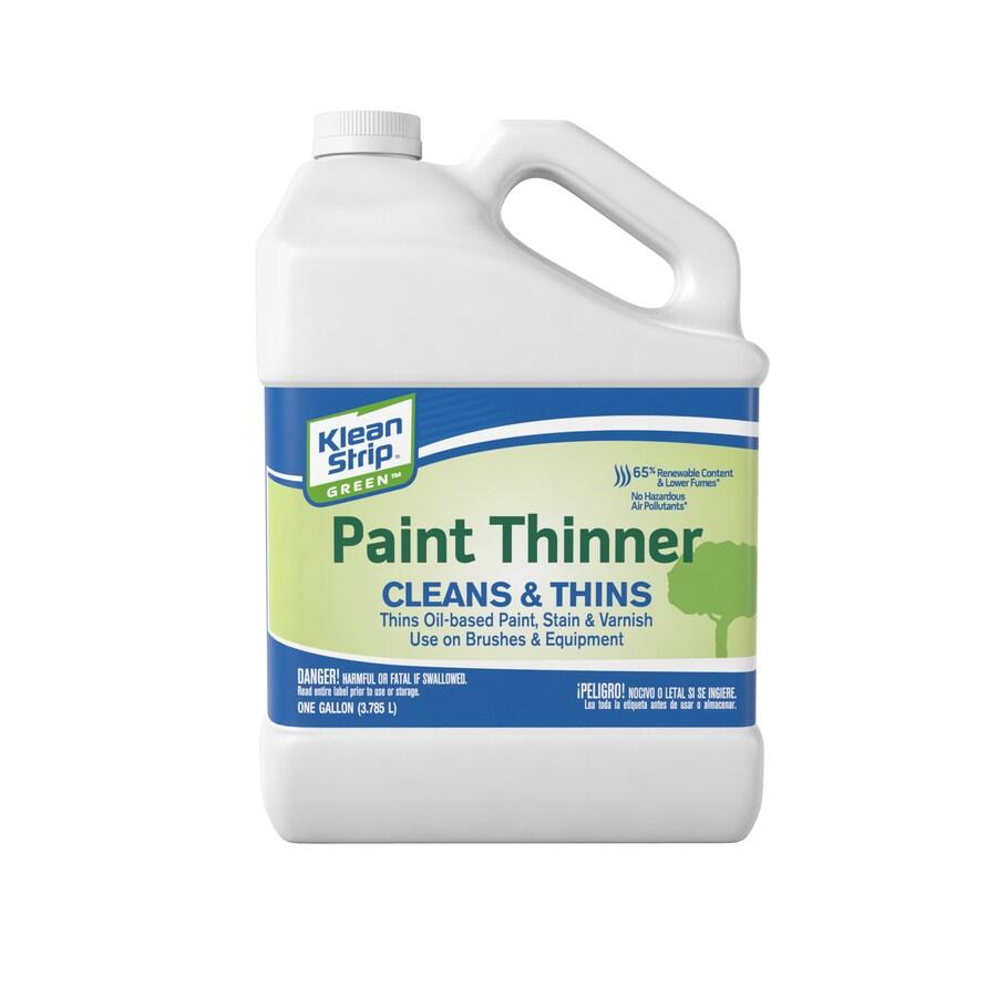Klean Strip 128 Fl Oz Slow To Dissolve Paint Thinner At