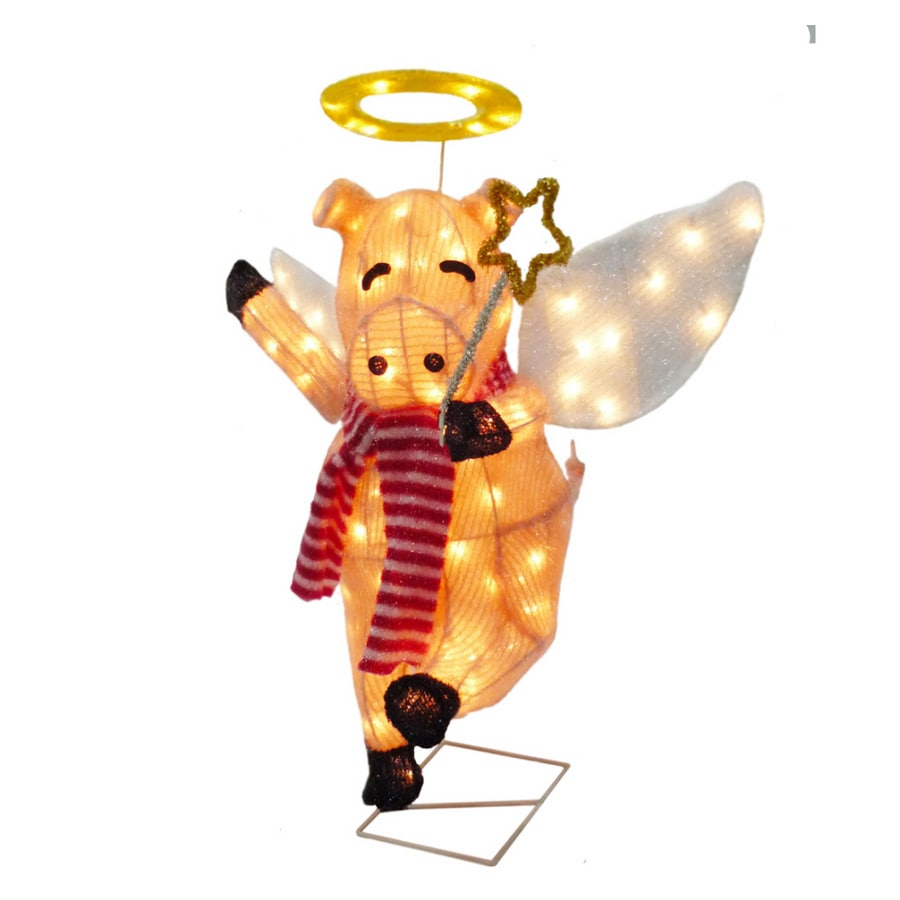 Holiday Living 24 Animated Flying Pig Outdoor Decoration