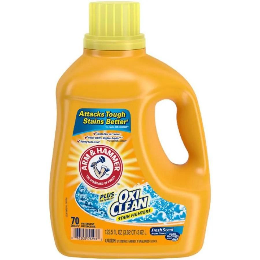 Shop ARM Amp HAMMER 1225 Oz Fresh Scent HE Liquid Laundry