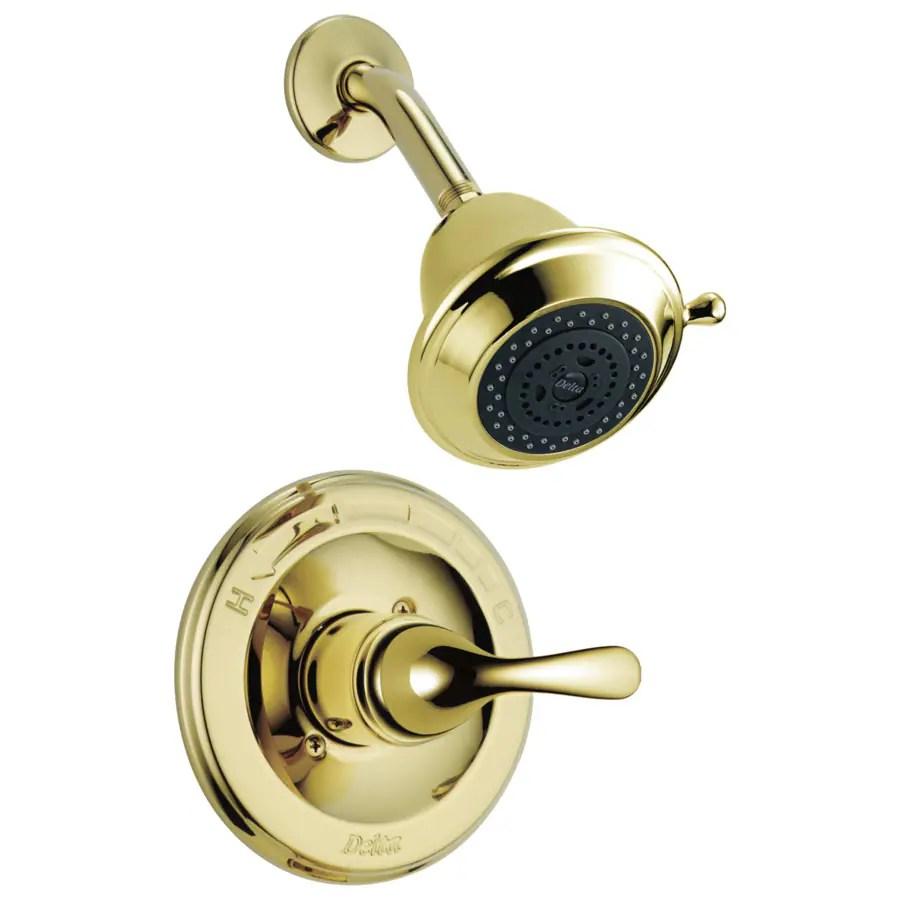 Shop Delta Classic Polished Brass 1 Handle WaterSense