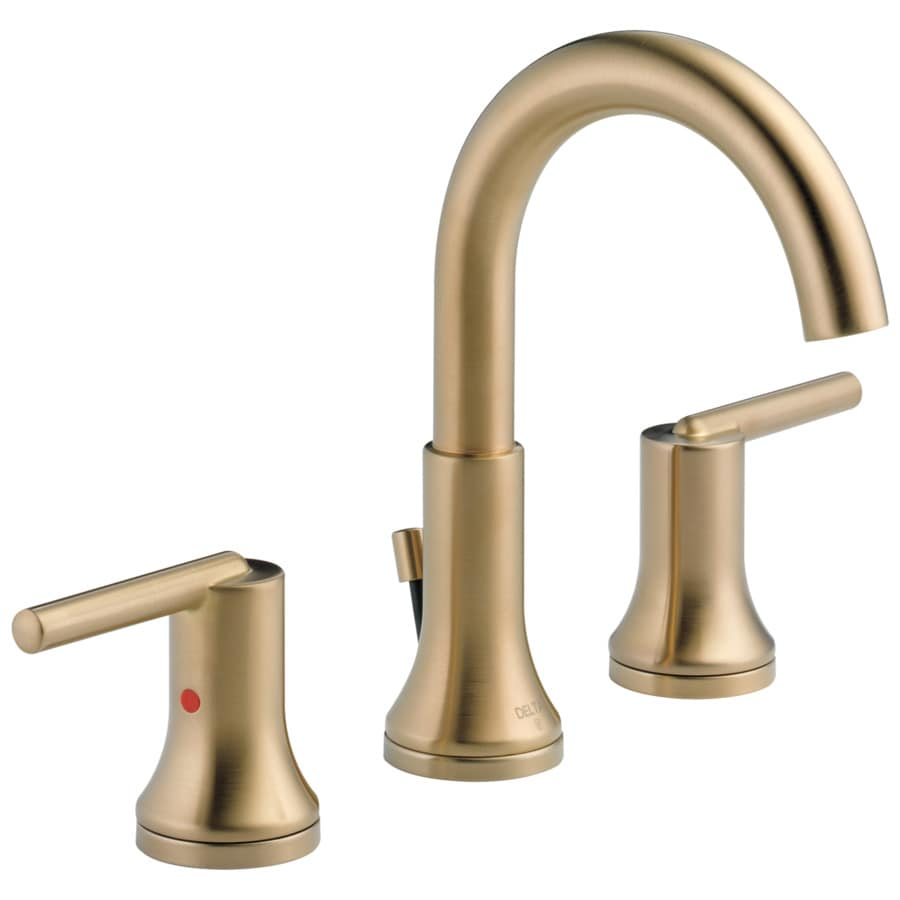 gold bathroom sink faucets at lowes com
