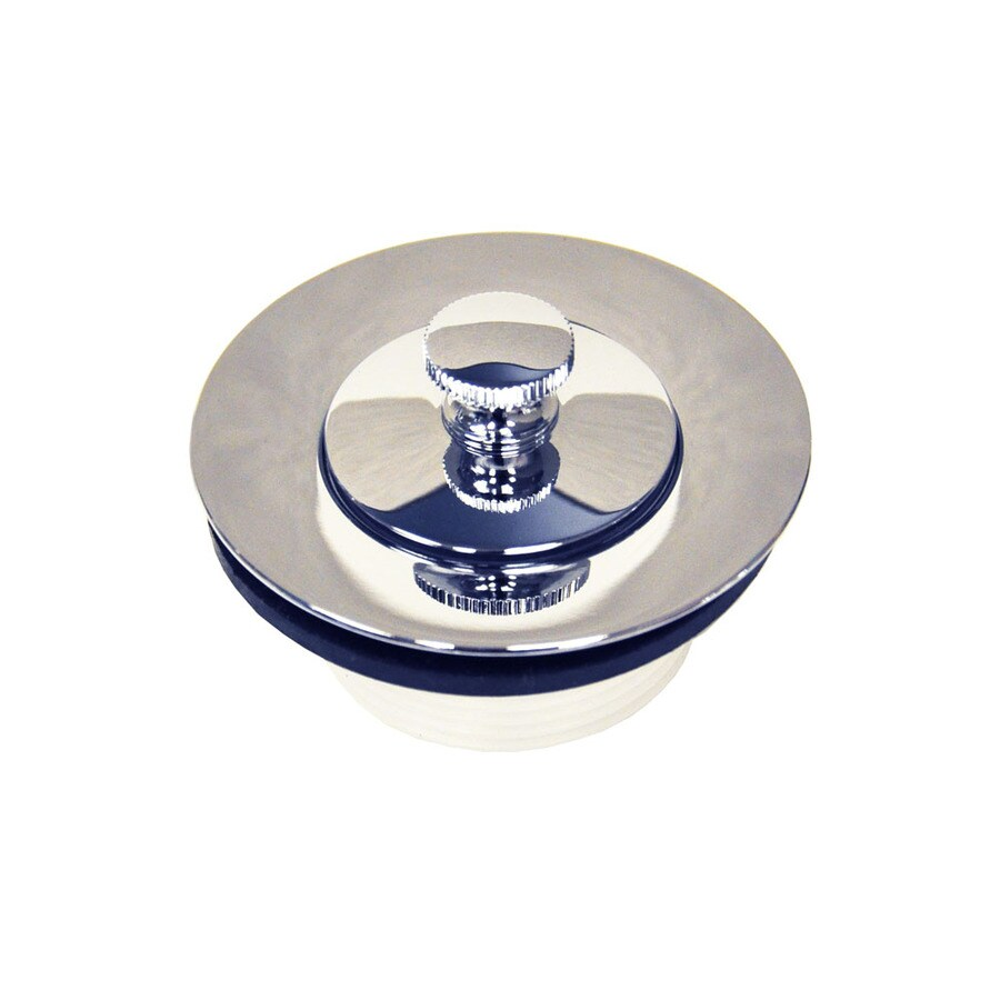 Shop Danco 15 In Chrome Lift And Turn Drain At