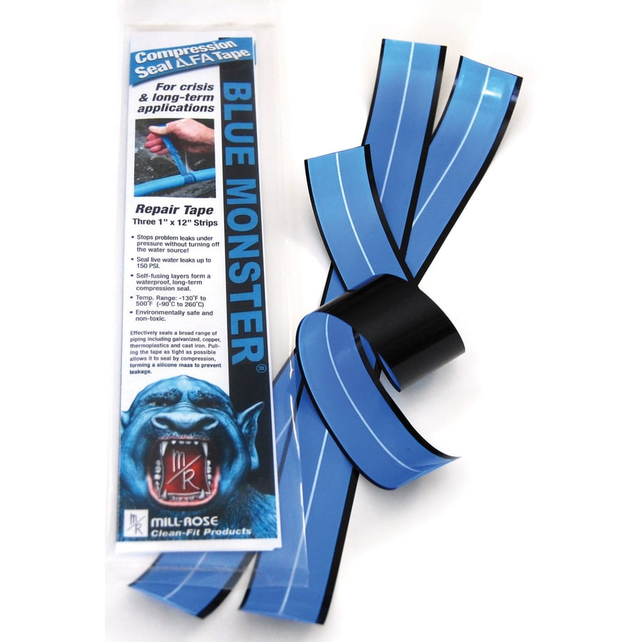 Shop Blue Monster 3 Pack 1 In X 1 Ft Pipe Wrap Tape At