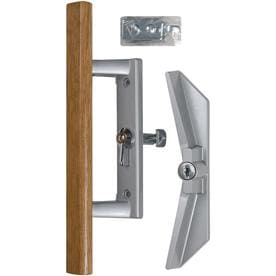 Shop Sliding Patio Door Hardware at Lowes com WRIGHT PRODUCTS 3 94 in Surface Mounted Sliding Patio Door Handle
