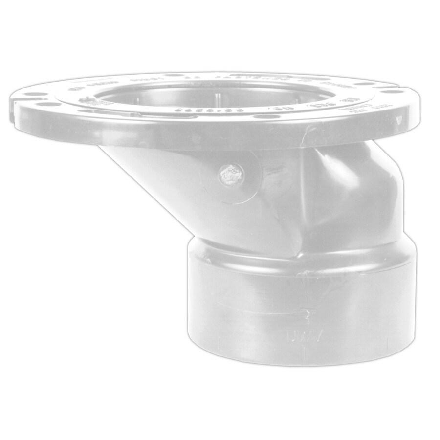 PVC Toilet Flange Closet Offset Tap Plumbing Tub Drains