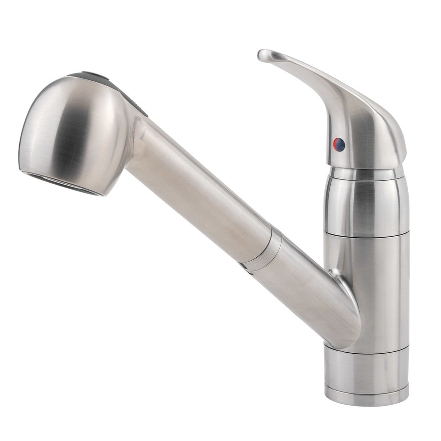 038877548776 White Kitchen Faucets Pull Out