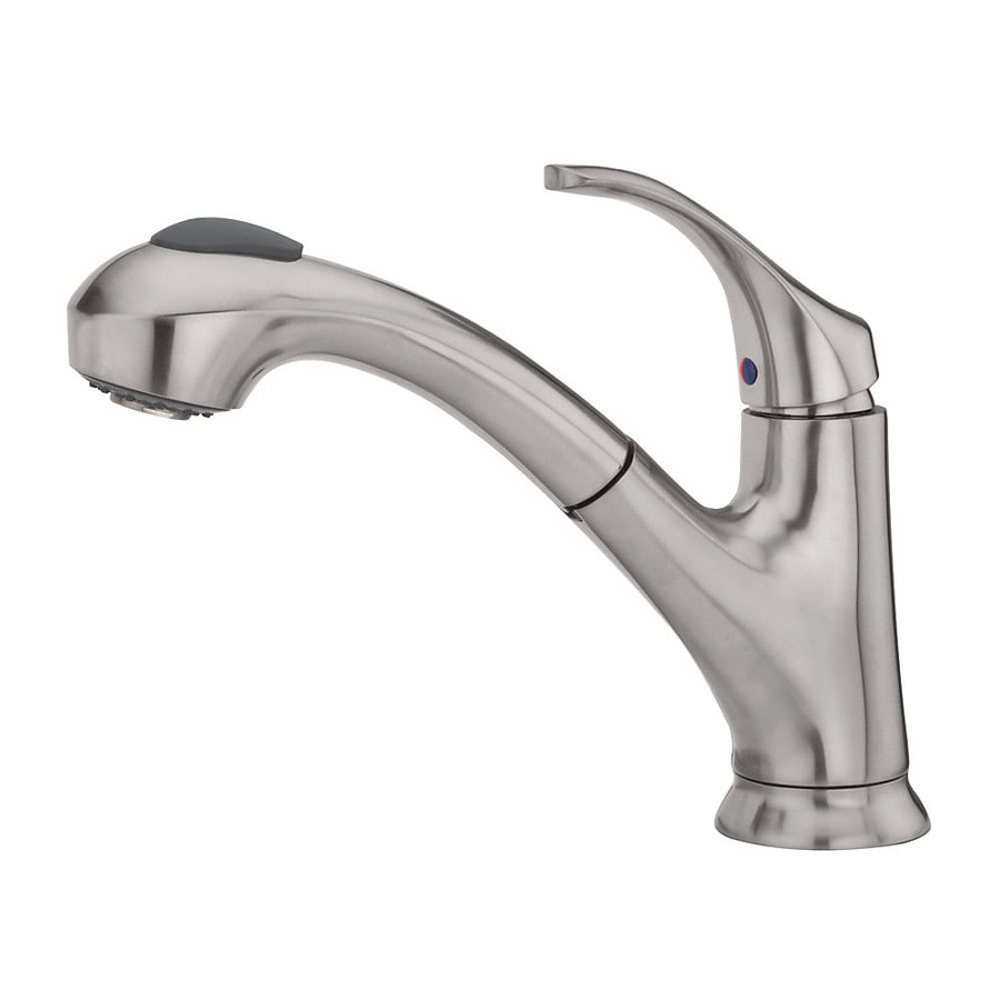 038877568736 White Delta Kitchen Faucet