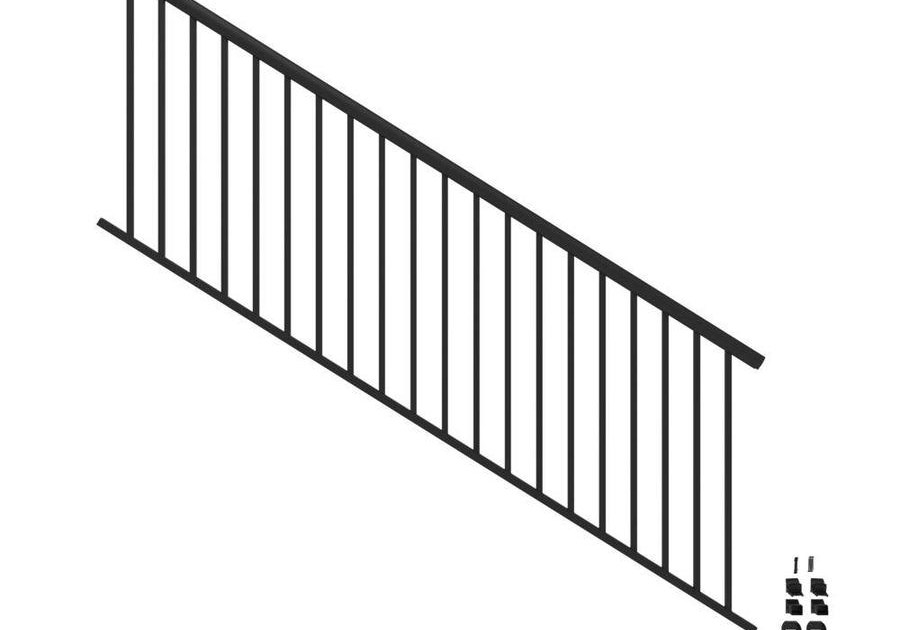 Stair Rail Deck Railing At Lowes Com | Outdoor Step Railing Lowes | Handrail Kit | Deck Stairs | Deck Railing | Lowes Com | Composite Decking
