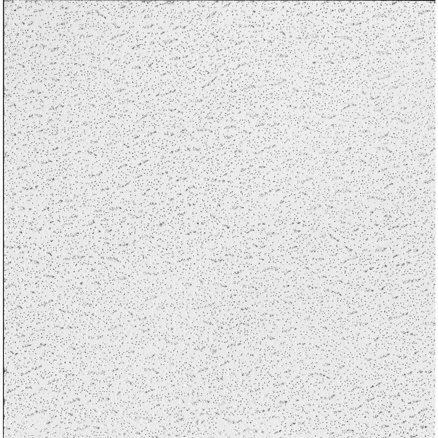 armstrong ceilings 24 in x 24 in textured contractor 16 pack white fissured 15 16 in drop acoustic panel ceiling tiles