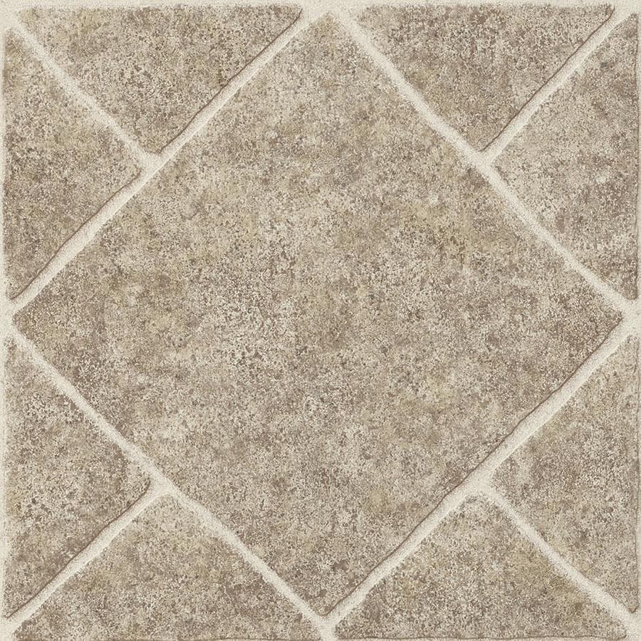 armstrong flooring umber 12 in x 12 in water resistant peel and stick vinyl tile 1 sq ft lowes com