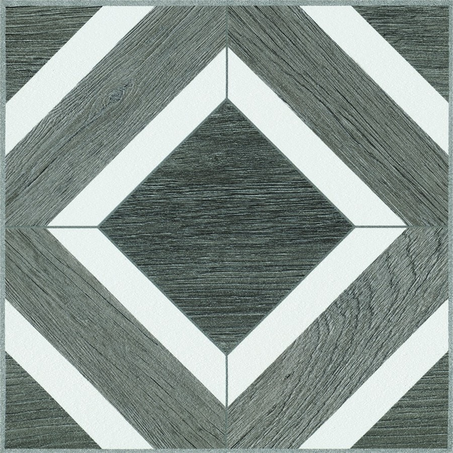 armstrong flooring terraza harbor gray 12 in x 12 in water resistant peel and stick vinyl tile 1 sq ft
