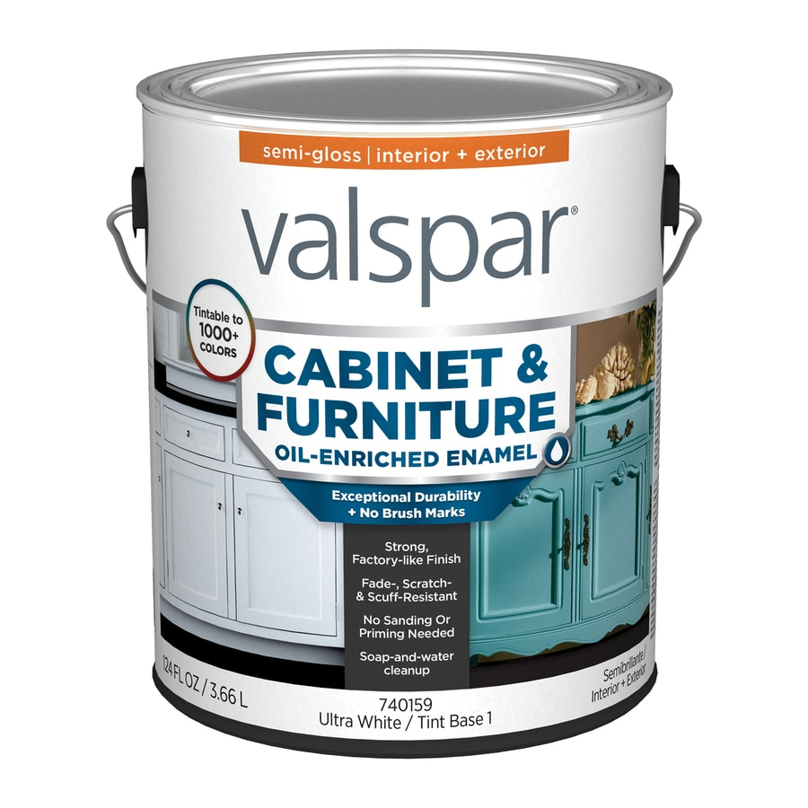 Valspar Semi Gloss Base  Latex Enamel Paint Actual Net Contents