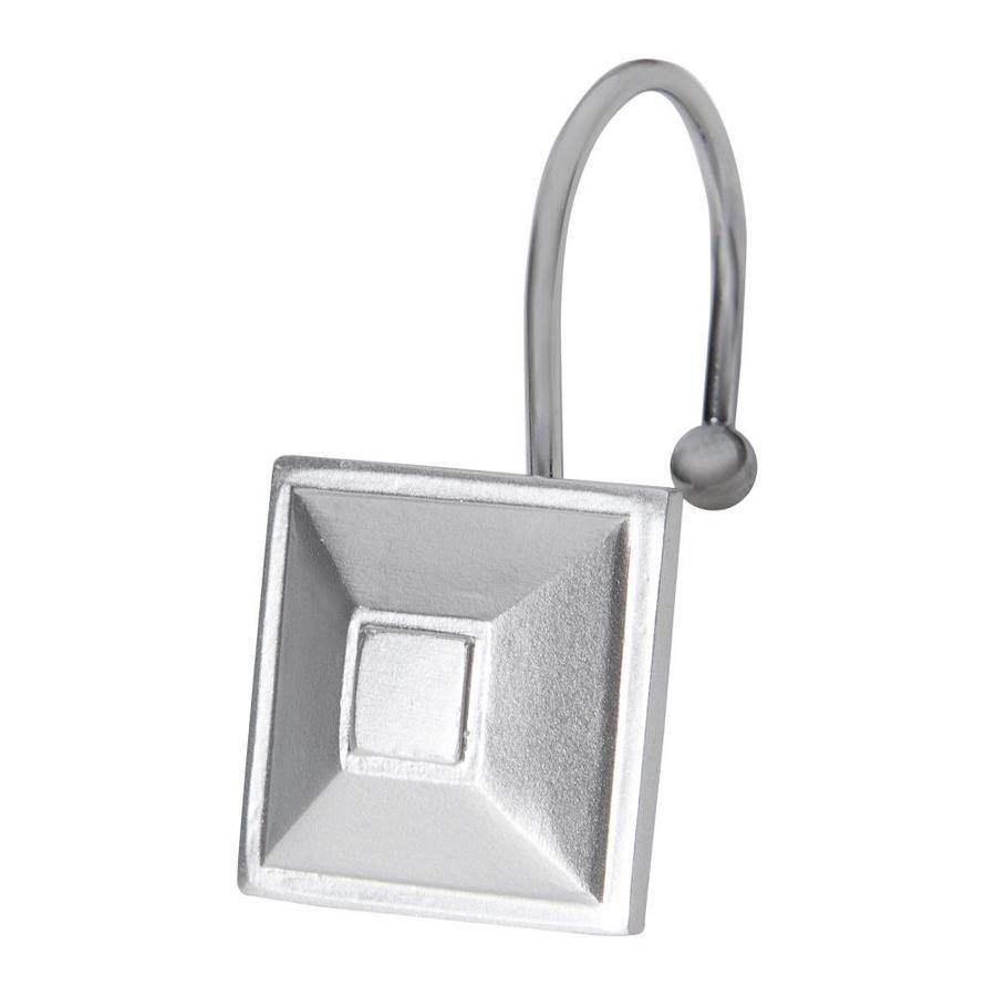 aluminum shower rings hooks at lowes com