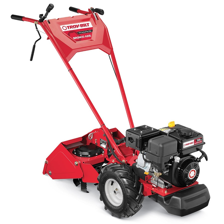 Tillers Rototillers Cultivators The Home Depot. Troy Bilt Tb Bronco Axisvertical Tinetil In The Tillers Department At Lowes Com