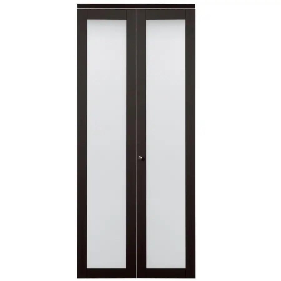 Shop ReliaBilt MDF Bifold Door With Hardware Common 24