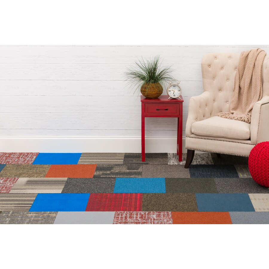 carpet tile department at lowes