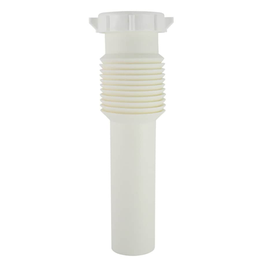 extension tube under sink plumbing at