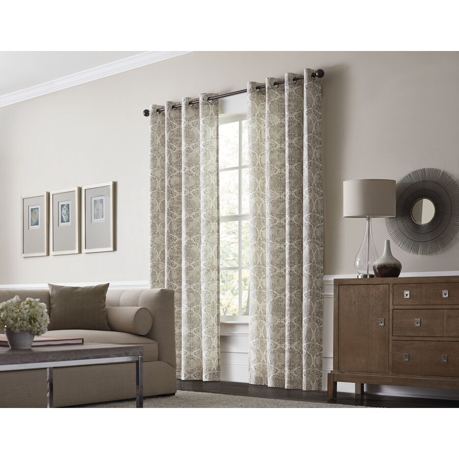 Al Roth Lapeer  In Scotton Grommet Light Filtering Single Curtain Panel