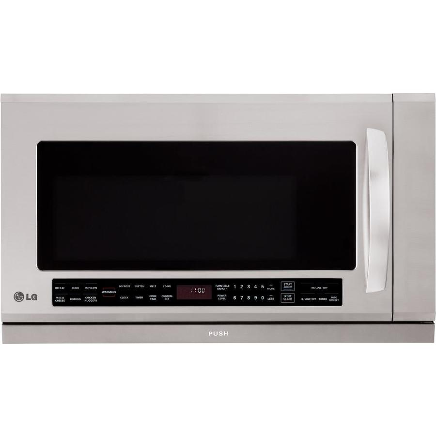 https www lowes com pd lg 2 cu ft over the range microwave with sensor cooking stainless steel 4484178