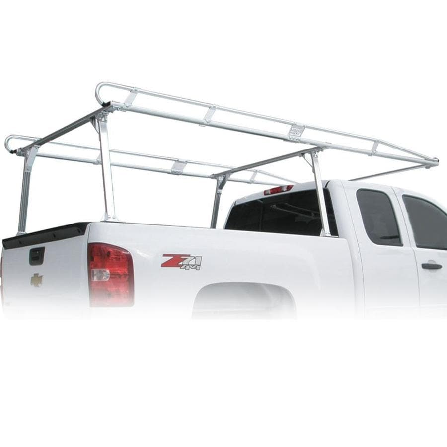 hauler racks hauler ii truck rack 120 in aluminum roof ladder rack hardware included