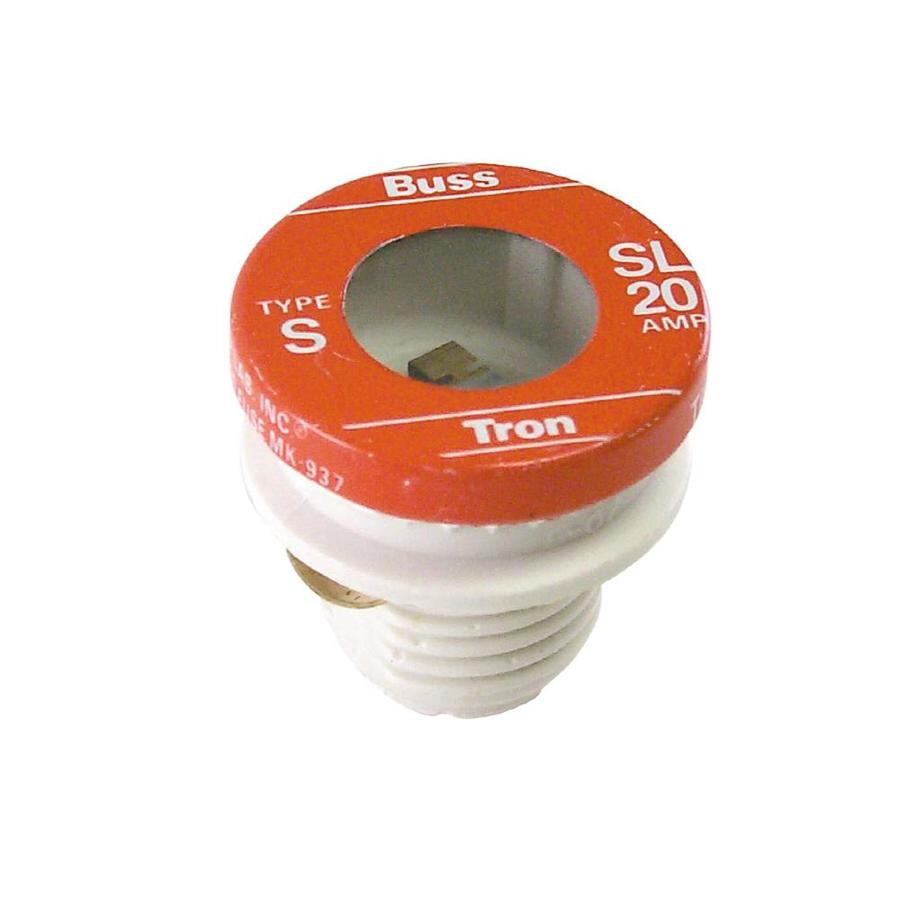 cooper bussmann 3 pack 20 amp time delay plug fuse lowes com